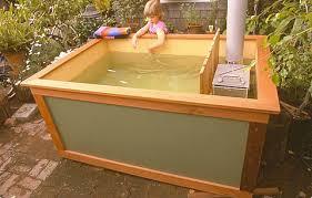 Wood Fired Bathtub Cheap Homemade Diy Wood Fired Tub Solar Burrito