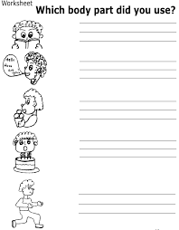 my body worksheets mreichert kids worksheets