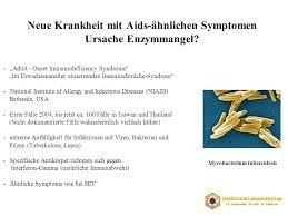 immunschwäche symptome medizinische wirksamkeit enzymen ppt herunterladen
