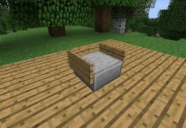 How To Make A Toy Chest Cushion by How To Make Furniture In Minecraft Minecraft Wonderhowto