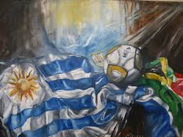 Flag Uruguay Painting With The Uruguay Flag Don U0027t Stop Living