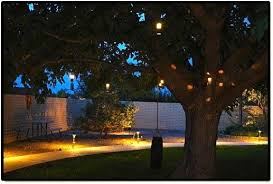 landscape lighting outdoor low voltage flower hanging tree light