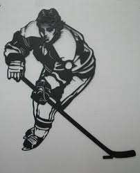 jim s metal art metal art hockey player