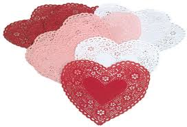 heart shaped doilies heart shaped doilies