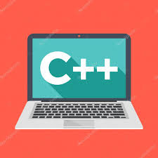 conceptmodern laptop with c title on screen learn c programming language