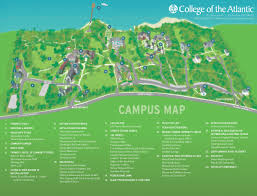 Harbor College Map Coa Campus Map U2014 Illustration Porcupine Design