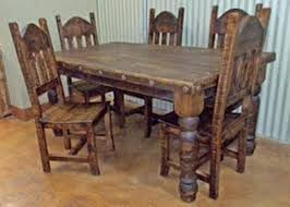 Distressed Dining Room Table Distressed Dining Tables Into The Glass Rustic Distressed