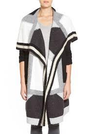 trouve sweater trouve patchwork open front cardigan nordstrom rack