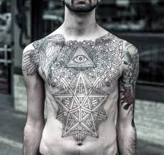 tattoo chest triangle 84 marvelous all black tattoos on chest