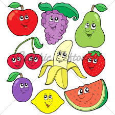 fruits u0026 vegetables clipart pencil and in color fruits