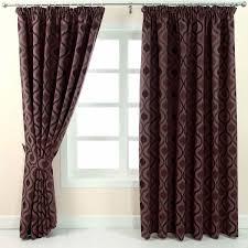 pencil pleat jacquard curtains modern wave fully lined cream