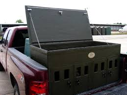 Truck Bed Dog Kennel Dog Boxes Custom Designed And Built To Last Boss Games Systems