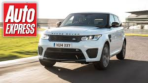 land rover svr white range rover sport svr first ride in new 542bhp super suv youtube