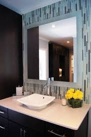 Bathroom Framed Mirrors by Trending Diy Mirror Projects Reflect A Larger Space Mosaic Tile