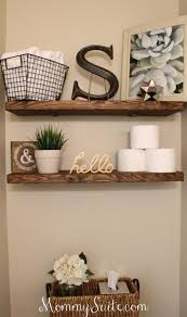decor ideas best 25 decorating bathroom shelves ideas on bathroom