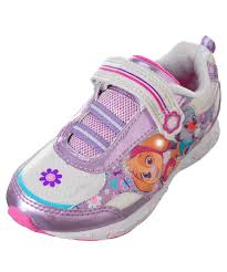 paw patrol light up sneakers paw patrol girls light up sneakers sizes 7 12