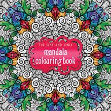 mandala colouring book colouring
