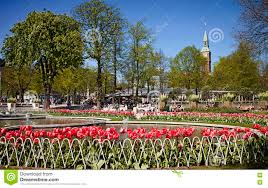 copenhagen denmark tivoli gardens fountains and beautiful