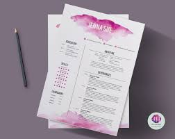 resume color paper cv template cover letter template reference letter zoom
