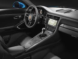 porsche carrera interior new porsche 911 gt3 model with manual transmission now also