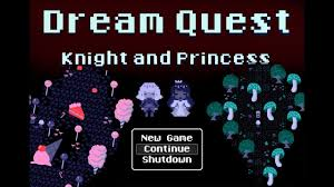 dream quest knight and princess indie retro style rpg game 1