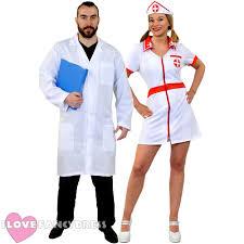 ladies bloody nurse halloween fancy dress costume plus hat blood