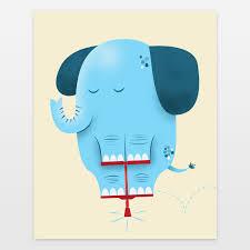 Elephant Nursery Wall Art Fresh by Nursery Decor Boomboom Prints Blog