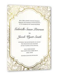 wedding invitations shutterfly ornate petals 5x7 stationery card by magnolia press shutterfly