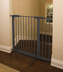 Extra Wide Pressure Fit Safety Gate Easy Close Metal Gate Extra Tall And Wide Baby Safety Zone