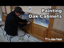 how to paint cabinets fast how to paint oak cabinets fast easy