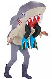 Inflatable Halloween Costumes Adults Inflatable Shark Costume Halloween Male Costume