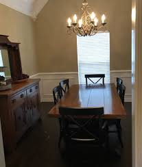 decorating this dining room and making small changes made such a