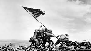 Ww2 Allied Flags Raising The Flag On Iwo Jima Is A Photograph Taken On February 23