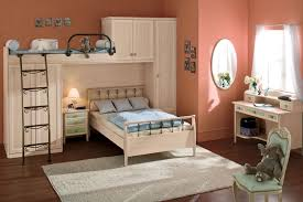 awesome pink kids bedroom with multifunctional furniture idea