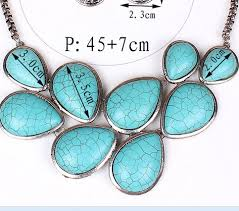 personalized necklaces for women personalized necklace statement necklace for women turquoise