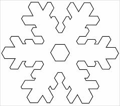 17 snowflake templates easy diy snowflakes craft using