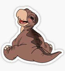 littlefoot stickers redbubble