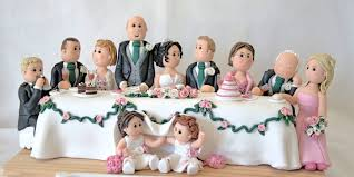 wedding cake toppers uk character creations personalised cake toppers by pitcher