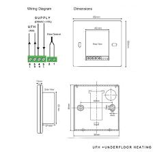 100 underfloor heating wiring diagrams rayburn cookers