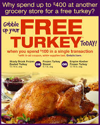 acme markets 2013 free thanksgiving offer frugal philly