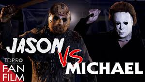 mask from halloween movie jason voorhees vs michael myers 2015 directed by trent duncan