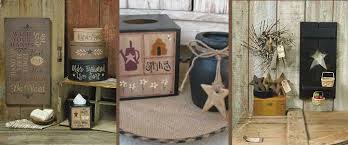 primitive decorated homes primitive home decor country home decor gainers creek crafts