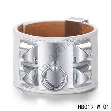 hermes bracelet white images Authentic quality limited edition hermes bracelet replica for jpg
