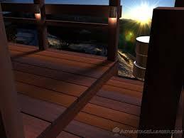 deck lighting 101 u2013 low voltage line or solar power sources