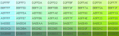 beautiful colors hex ultimate html color hex code index technology pinterest