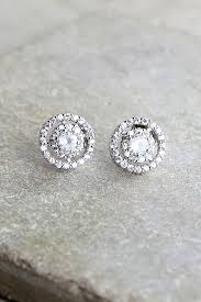 rhinestone earrings pretty silver earrings rhinestone earrings post back earrings