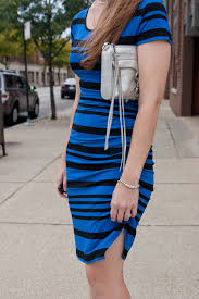 target ruched dress in black and athens blue rebecca minkoff