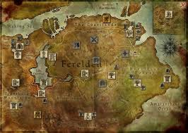 thedas map map of ferelden my