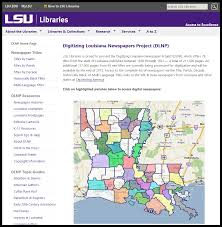 Lsu Parking Map Lsu Library Dlnp Browse Titles By Parish Grok Knowledge Base