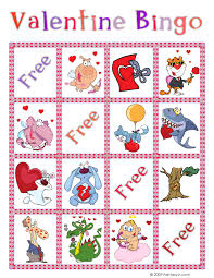 valentines bingo bingo card 3 woo jr kids activities